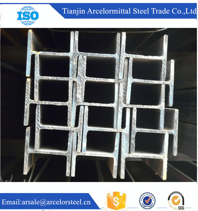 Trade Assuarance Lowest Price Structural Steel H Beam Sizes SS400 JIS Standard for Building Material Trading