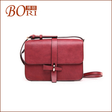 2012 goatskin leather fashion women handbag