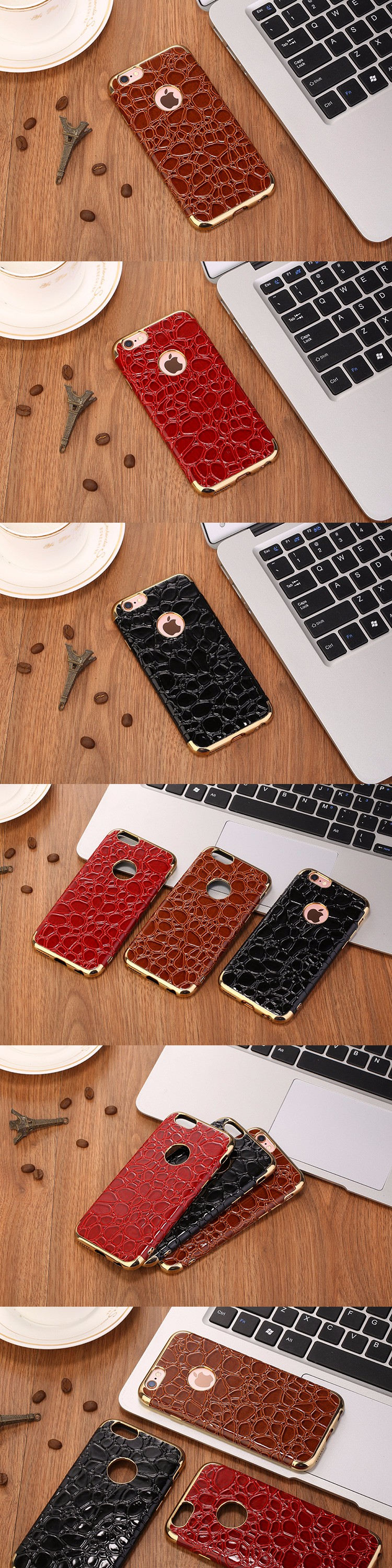 Case For IPhone 6 Cases Cover For IPhone 6S Soft TPU Luxury Anti-knock Shell
