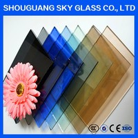 4mm-12mm Black Tinted Glass, Factory Tinted Auto Glass, Tinted Auto Glass With CE Cerificate