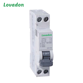 Indoor 6 Amp Dpna Series Miniature Circuit Breaker