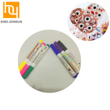 Multi Color Edible Ink Disappearing Marker Pen For Kids