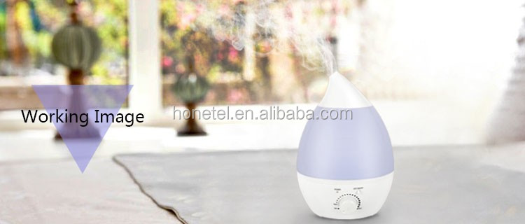2.8L amazon top seller 2018 drop OEM/ODM Ultrasonic Cool Mist nebulizer Essential Oil Vaporizer Humidifier