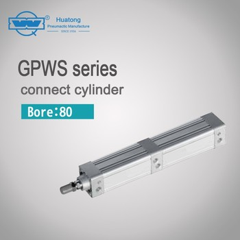 GPWS series 80 double action pneumtic air cylinder