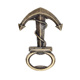 Top Quality Army Bottle Opener Anchor Shape Brass Bottle Opener
