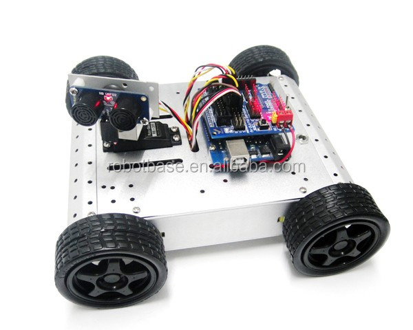 RB-13K056-4WD Detection and Avoidance Robot Kit(3)