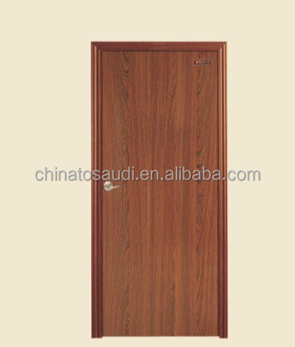 wooden door display rack skin