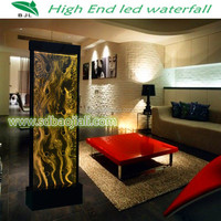 LED acrylic aquarium banquet hall wall decoration