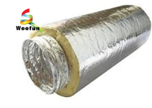 High quality long duration time duct insulation lowes