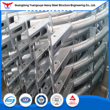 Fast assembly light style aluminum curtain wall design with curtain accessories fabrication