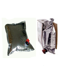 Wholesale Plastic Wine Bag In Box Food Packaging Bags / BIB Spout Pouch