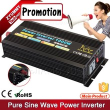 Stable quality Pure sine wave power inverter intelligent Off-grid solar power inverter 1000w DC-AC with full protection function