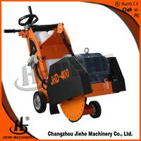 Push model easy used Siemens powered concrete groove cutter,cutting depth 90-150mm,road maintenance equipment(JHD-400E)