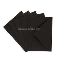 custom printing black A4 c4 c5 b6 kraft paper envelope