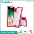 TPU and PC shockproof cell phone case for iphone8