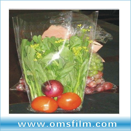 Polypropylene micro perforated plastic bags for bread&fruits