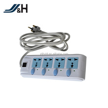 Supply proffessional high power 4-outlet surge protector power strip