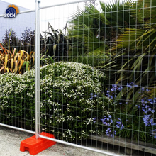 Anping fatory hot dipped galvanized temporary fence