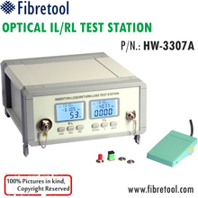 HW-3307A SM 1310/1550nm Fiber Optic IL/RL Insertion Loss/Return Loss Tester