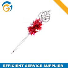 Plastic Funny Crown Pen for Promotion