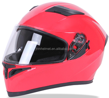 New DOT approved double visors motorcycle full face helmet casco integral