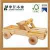 best-seller unfinished DIY handmade kids wholesale wooden toy truck