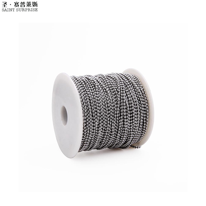 High Quality <strong>1</strong>.5mm Ball Chain For Necklace Wholesale