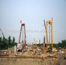 KP2500 Type Full Hydraulic drill machine used inYumenkou Yellow river bridge construction