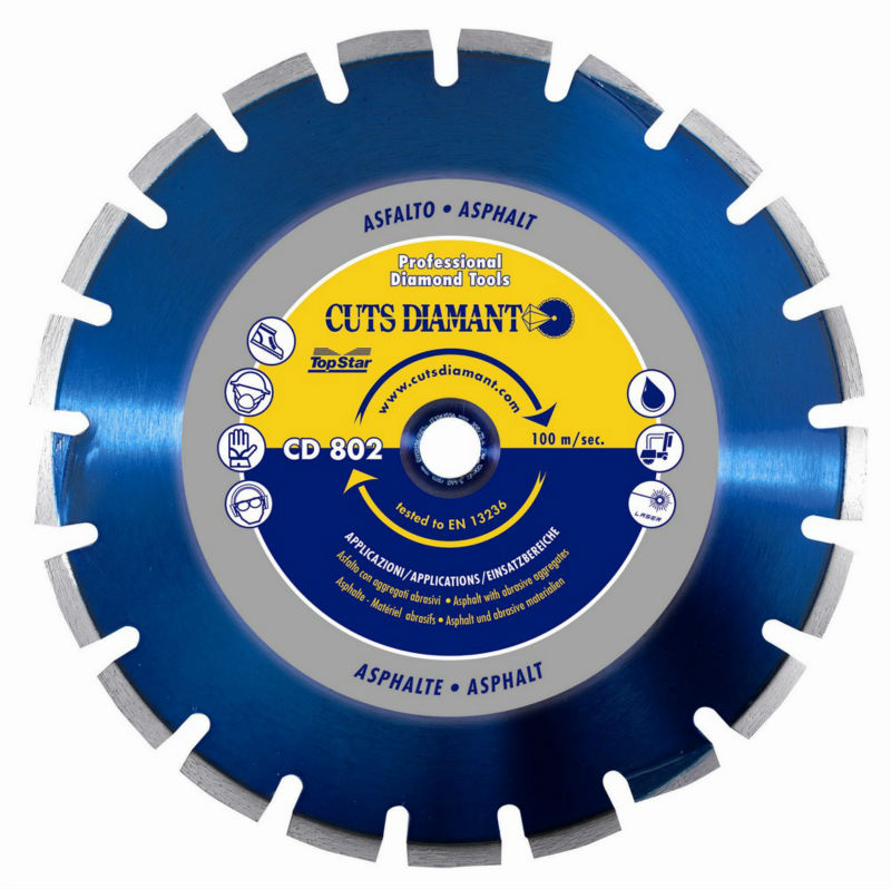 Diamond blade CD 802 H7 ASPHALT