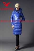 long women down coat fashion dress cheap wholesale in China
