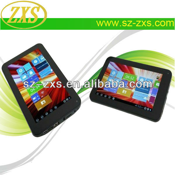 ZXS-VIA8880 WIFI_G-sensor_3D Games_External 3G_ Cortex-A9,1.5GHz Dual Core MID PC,Tablet with WIFI,HDMI Mini Tablets