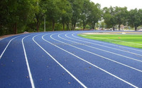 Rubber/Synthetic Running Track, Rubber Running Track Surface, Rubber Flooring For Running Track -FN-D-14120305