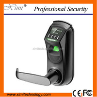 Digital fingerprint door lock hotel door lock with LCD aceess control door lock system