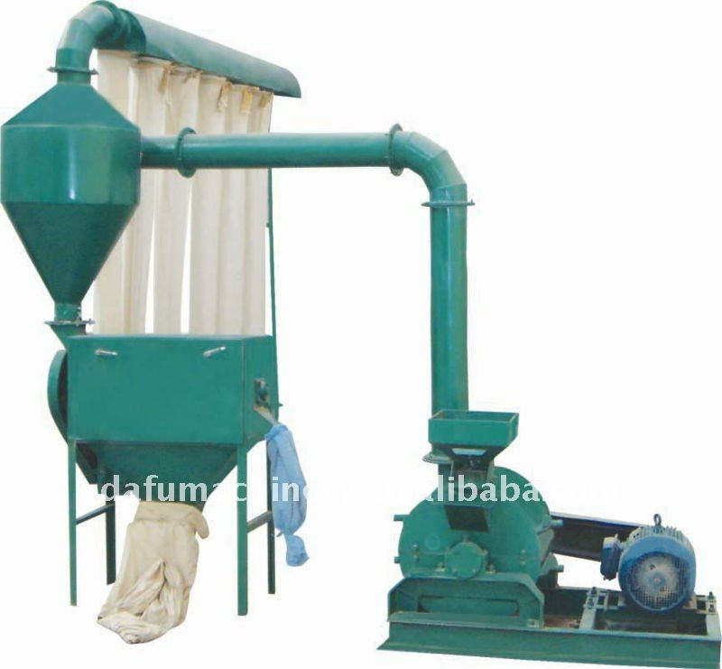 wood flour machine uesd in feeder process