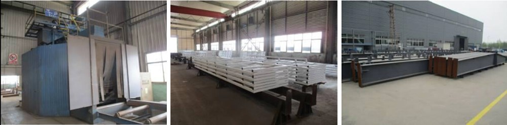 Light Steel Structure Building with lower price Longer service life