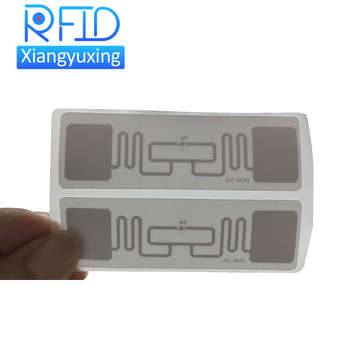 uhf 860-960mhz adhesive label roll packing rfid long range sticker