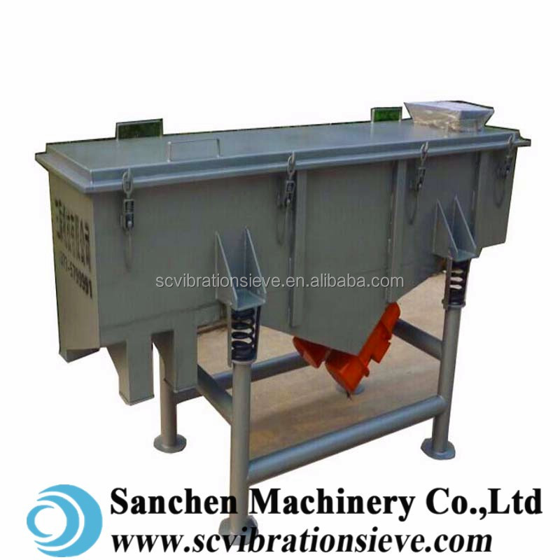 Linear vibrating screen price with high quality