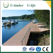 Water proof anti-slip wood composite decking for outdoor WPC terrace board