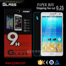 9H Hardness 2.5D Premium tempered glass screen protector for Moto x play , for Moto x play screen protector