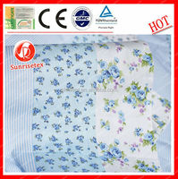 Anti-bacterial Breathable 100% cotton baby towel fabric factory