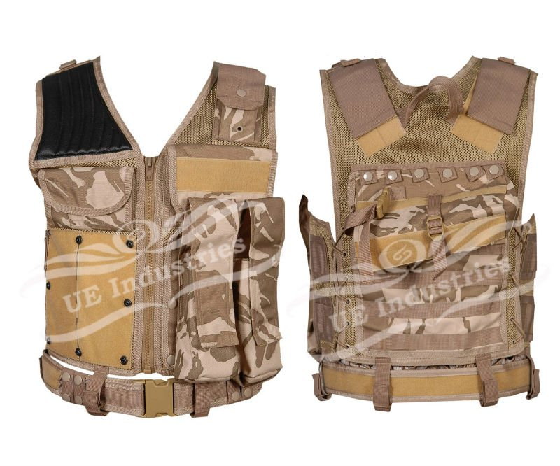 paintball vest, tactical vest, camo vest