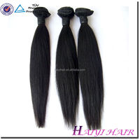Cheap wholesale 100% human virgin remy indian hair bulk top quality 100% Virgin Indian Remy Temple Hair
