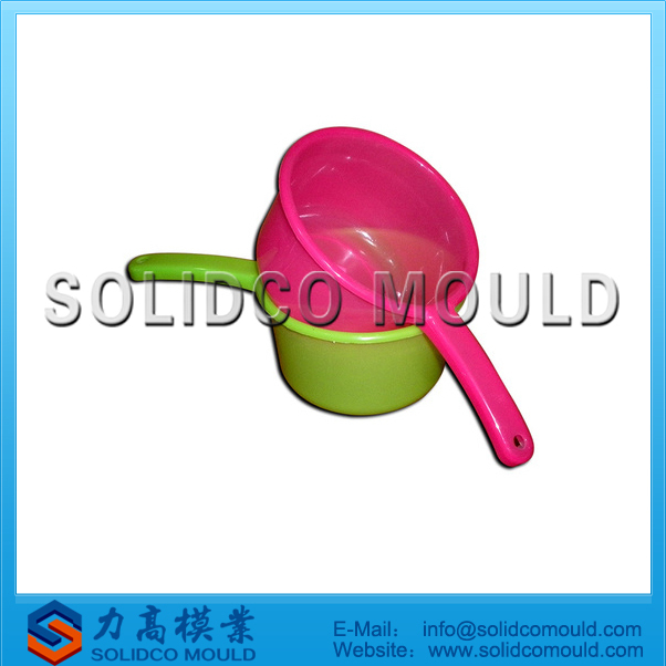 Long handle water bailer mould, plastic bailer mould plastic water scoop mold