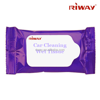 Car cleaning wet tissue