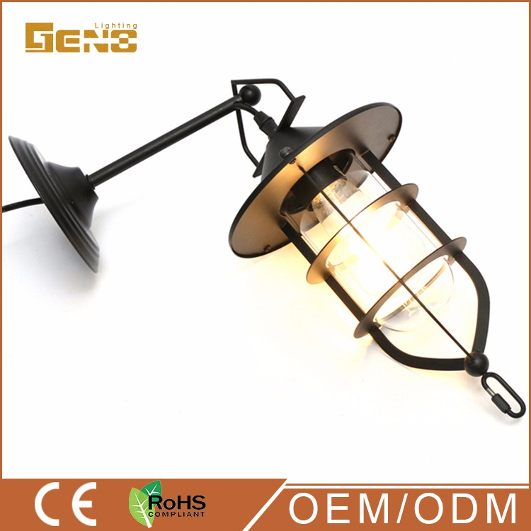 interior ceiling ul 265 down bedroom wall lamp factory