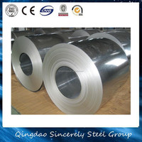 high quality cold rolled 0.5mm hot dipped zinc coated steel sheets supplier
