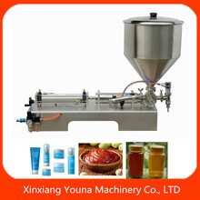 semi automatic chilli sauce/tomato paste/chutney filling machine