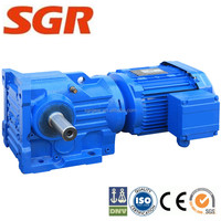 Cast & Forged customized Helical-Bevel Gearbox for Cherry-picking conveyor components