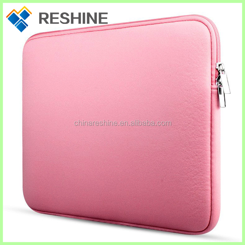 neoprene laptop briefcase carry portable sleeve ladies for promotion bussiness women girls laptop battery case