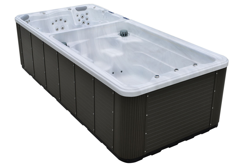 Self cleaning 10 person capacity outdoor massagespas hot for Bath tub capacity